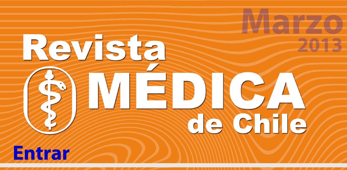 Revista Médica de Chile Marzo 2013